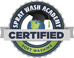 Spray Wash Academy Softwash Certified