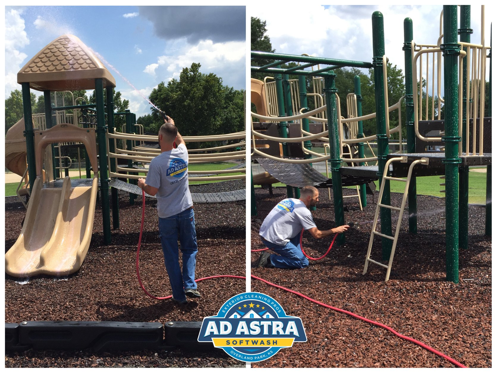 Playground Sanitizing & Disinfection
